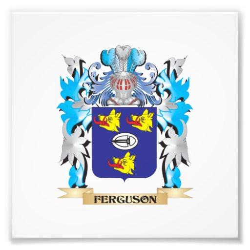 Ferguson Coat of Arms - Family Crest Photo Print