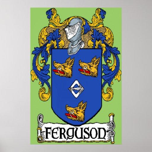 Ferguson Coat of Arms Print