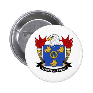 Ferguson Family Crest 6 Cm Round Badge