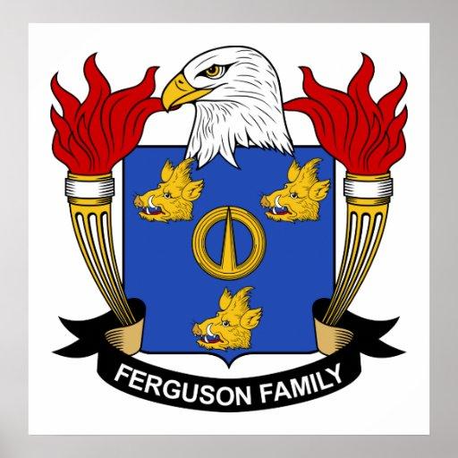 Ferguson Family Crest Print
