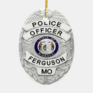 Ferguson Police Badge Christmas Ornament
