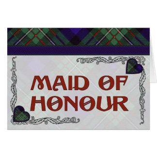 Ferguson Scottish Tartan Greeting Card