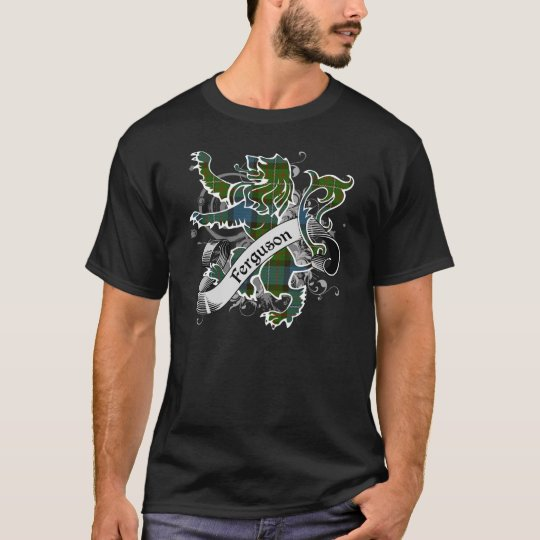 Ferguson Tartan Lion T-Shirt