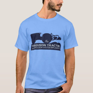 Ferguson Tractor Class Vintage Hiking Duck T-Shirt