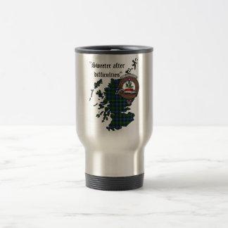 Fergusson Clan Badge Travel Mug