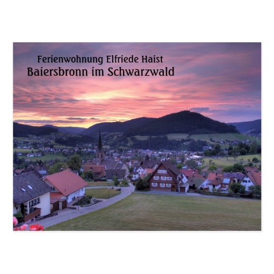 Ferienwohnung Elfriede Haist - Sunset Postcard