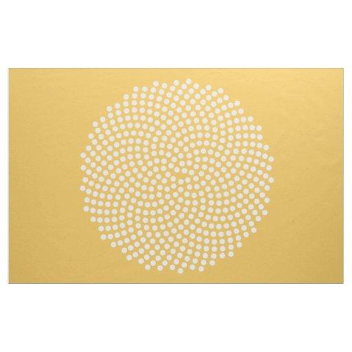 Fermat's Spiral Fabric