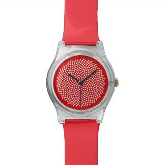 Fermat's Spiral Wrist Watch