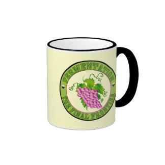 Fermentation of Grapes Mug