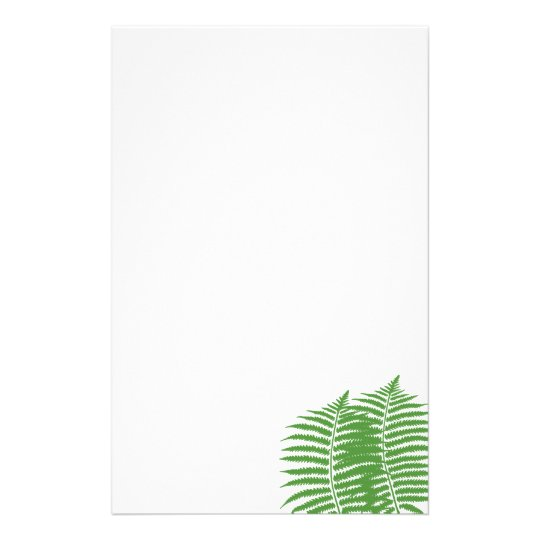 fern branch stationary stationery