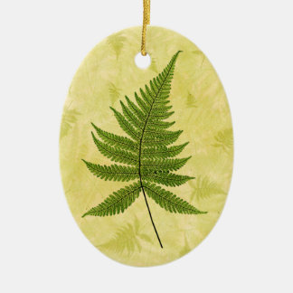 Fern Christmas Ornament