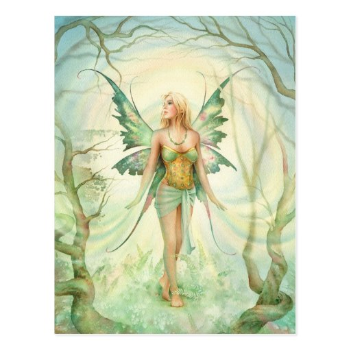 """Fern"" Fairy by Scot Howden Postcard"