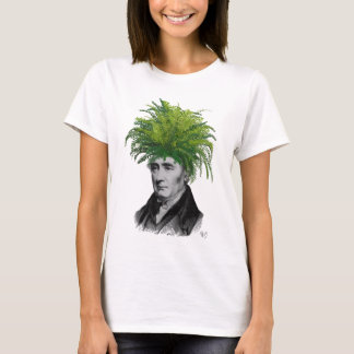 Fern Head Plant Head T-Shirt