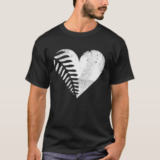 Fern Heart Dark T-shirt 2