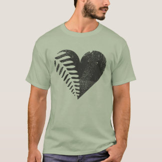 Fern Heart Double-Sided T-shirt