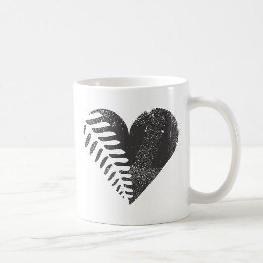 Fern Heart Mug