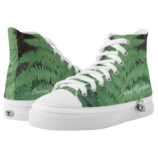 fern hightop zip trainers