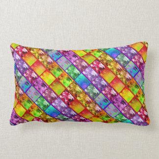 Fern Leaf Artistic Photo Series Lumbar Pillow Diag