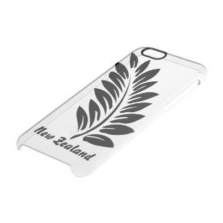 Fern leaf clear iPhone 6/6S case