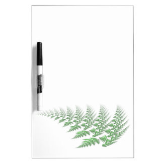 fern leaf dry erase board