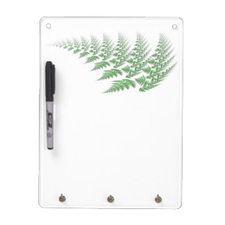 fern leaf dry erase boards