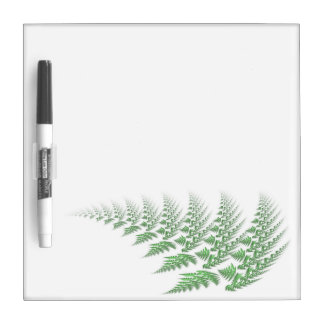 fern leaf dry erase whiteboard