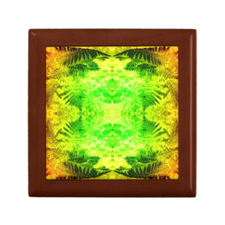 Fern Leaf Fractal B Gift Box Golden Oak Sml