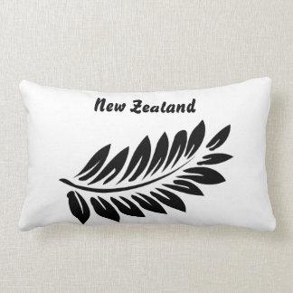 Fern leaf lumbar pillow