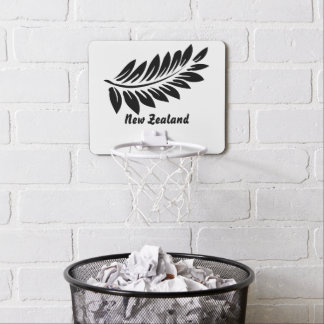 Fern leaf mini basketball hoop