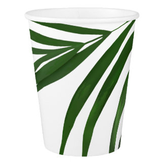 Fern Leaf Paper Cups