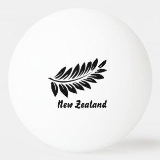 Fern leaf ping pong ball