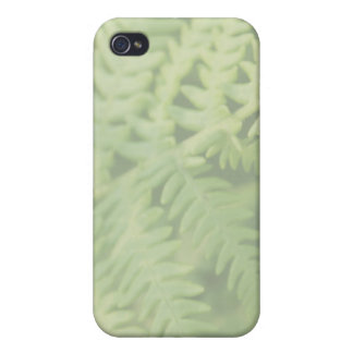 Fern Leaves, Light Green. iPhone 4 Cases