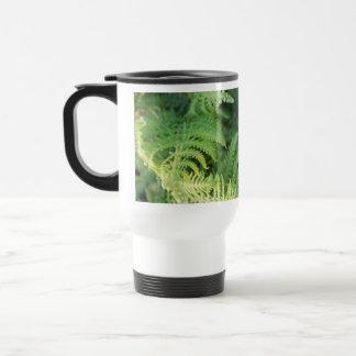 Fern Leaves. Travel Mug