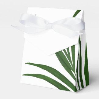 Fern Leaves Tropical Favor Box