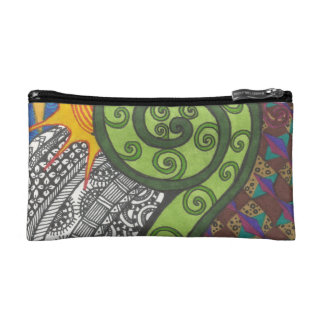 Fern Morning Cosmetic Bags