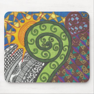 Fern Morning Mouse Pad