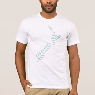 Fern NZ 4 Destroyed T-Shirt