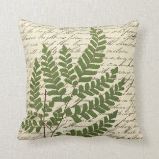 Fern on Script Pillow 1