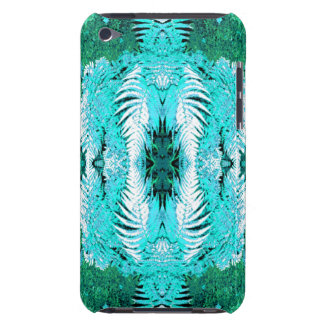 Fern Pern in Turquoise and Green. iPod Touch Cover