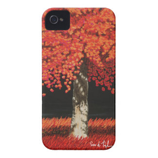 Fern Taylor Red Tree iPhone 4 4/S Case Case-Mate iPhone 4 Case