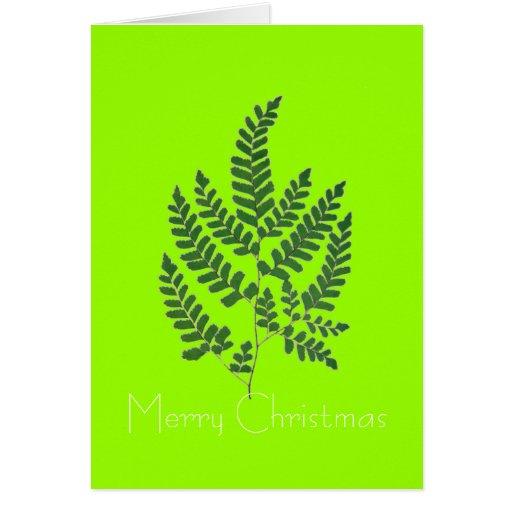 Fern Tree Card