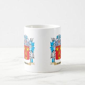 Fernan Coat of Arms - Family Crest Basic White Mug