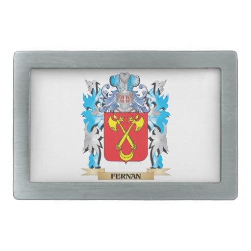 Fernan Coat of Arms - Family Crest Belt Buckle