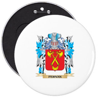 Fernan Coat of Arms - Family Crest Button