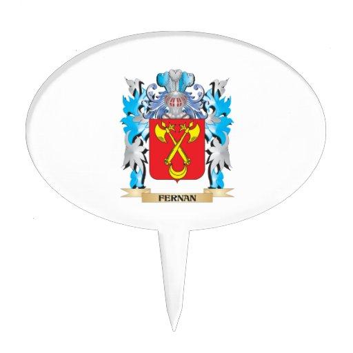 Fernan Coat of Arms - Family Crest Cake Topper