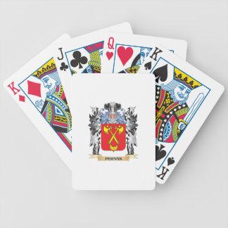 Fernan Coat of Arms - Family Crest Card Deck