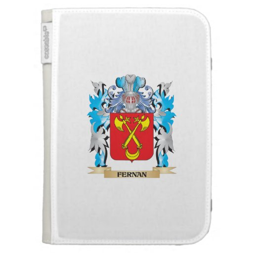 Fernan Coat of Arms - Family Crest Kindle Keyboard Cases