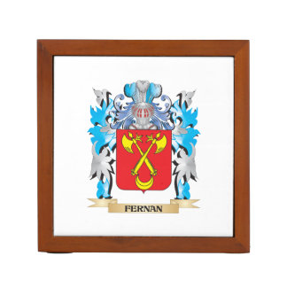 Fernan Coat of Arms - Family Crest Desk Organisers