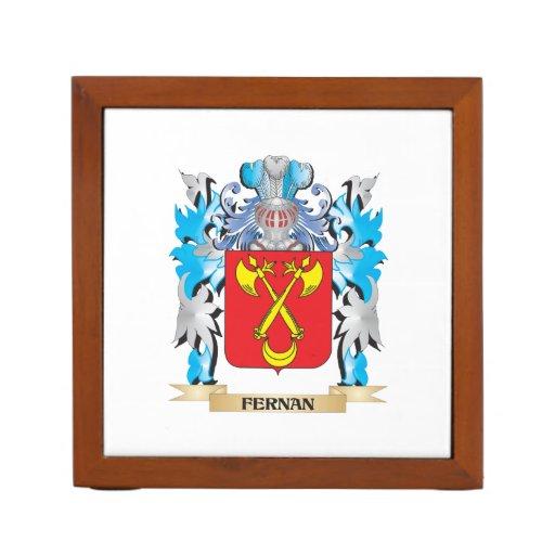 Fernan Coat of Arms - Family Crest Pencil/Pen Holder