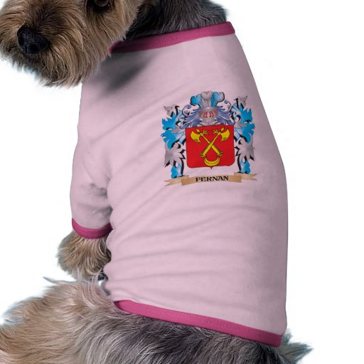 Fernan Coat of Arms - Family Crest Doggie T Shirt